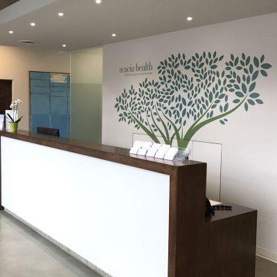 Acacia Reception Desk